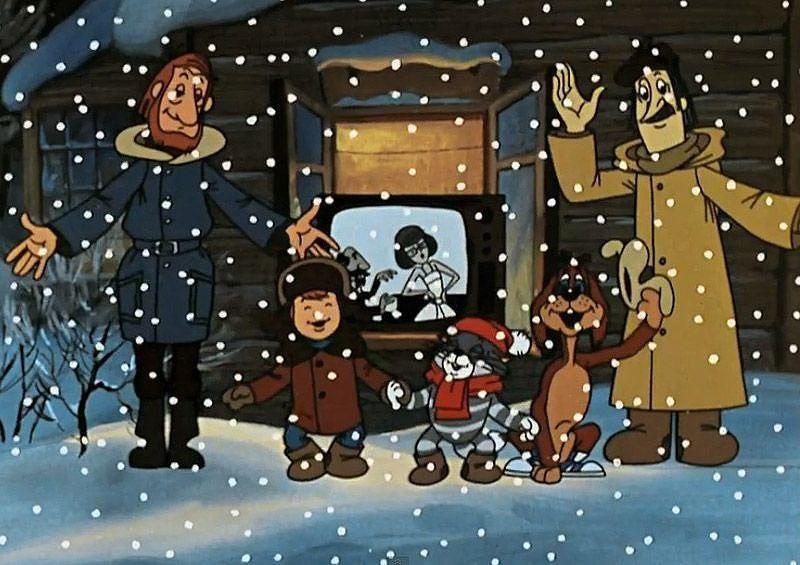 Смотреть мультфильм простоквашино новый год