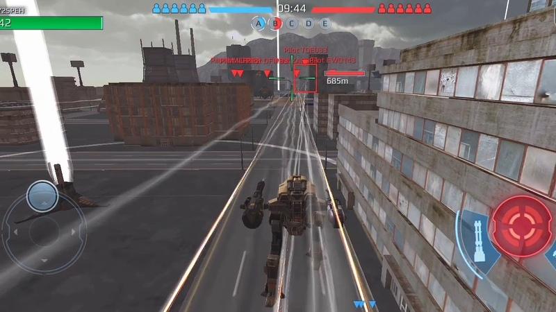 Игры на андроид обзор War Robots
