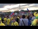 Фанаты сборной Бразилии о чемпионате мир mp4