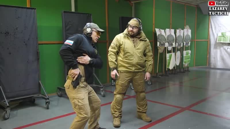 Пистолет 2 Правильное извлечение пистолета из кобуры