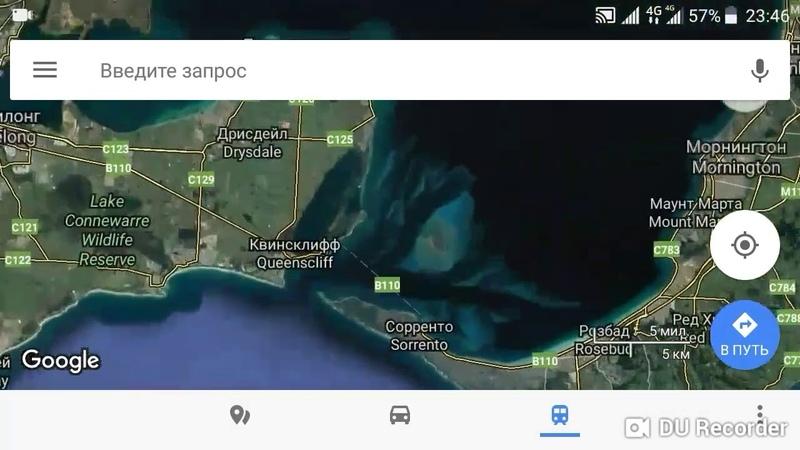 ЕГО ВИДНО ИЗ КОСМОСА Член на google maps