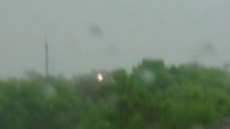Взрыв шаровой молнии|Ball lightning