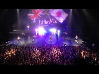 Little Mix - salute tour , wings ,in Japan Tokyo 18/08/14 Japanese Wings