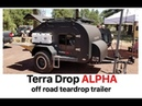 Terra Drop heavy duty tear drop trailer by Oregon TrailR Overland Expo 2018