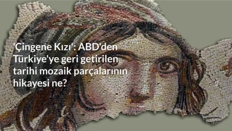 Amerika'dan 50 Yıl sonra Türkiye'ye getirilen çingene kızı mozağinin hikayesi