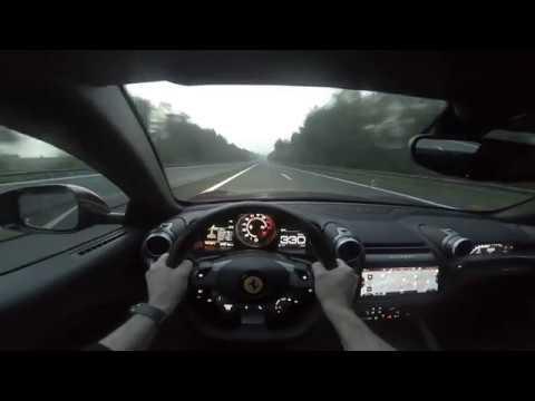 Ferrari GTC4Lusso acceleration 0 to 335kmh