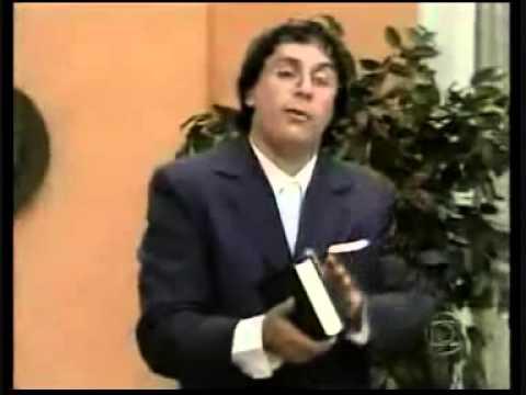 Sai de Baixo: Ribamar imitando pastor