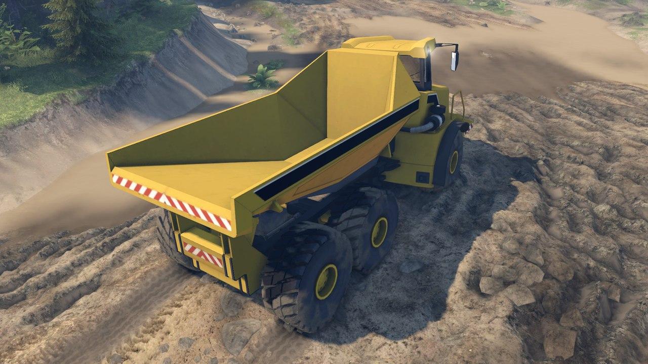 Dump Truck L v0.01 для версии 22.07.15(Бета!) для Spintires - Скриншот 2