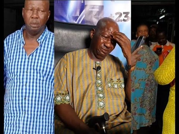 Heartbreaking! Baba Suwe Break down In Tears As He Narrates How He Got Stroke,U We Cry Watching This