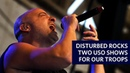 Disturbed Brings The Sickness to Creech, Nellis Air Force Bases