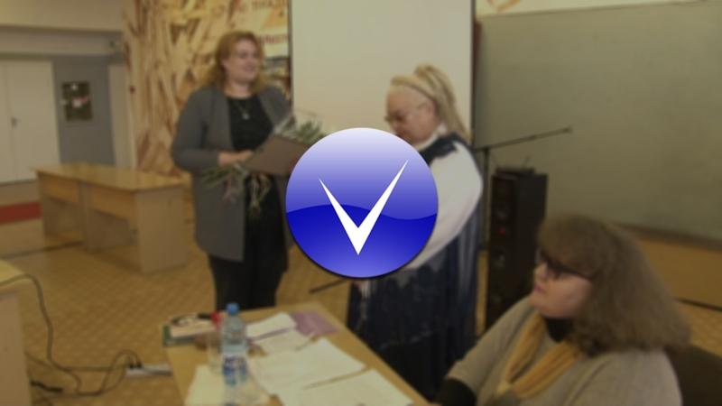 Встреча с писательницей Тамарой Красновой-Гусаченко