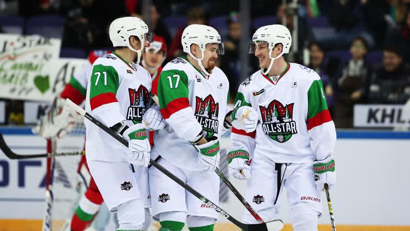 Матч Звезд KHL All Star 2019: Антон Васильев и Марк Верба