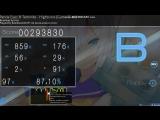 RainbowJohnYT - Panda Eyes &amp Teminite - Highscore Game Over (2018-06-05) Osu mods Relax