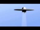 НЛО забирает человека на ботр тарелки