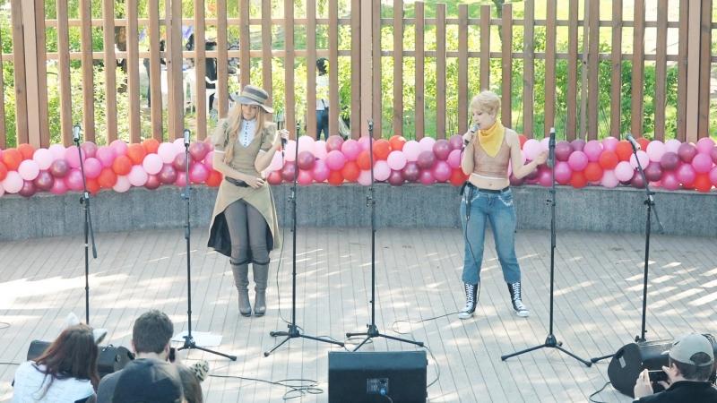 Воронеж 2014: Кикуараши и Астис, концерт на форум-выставке