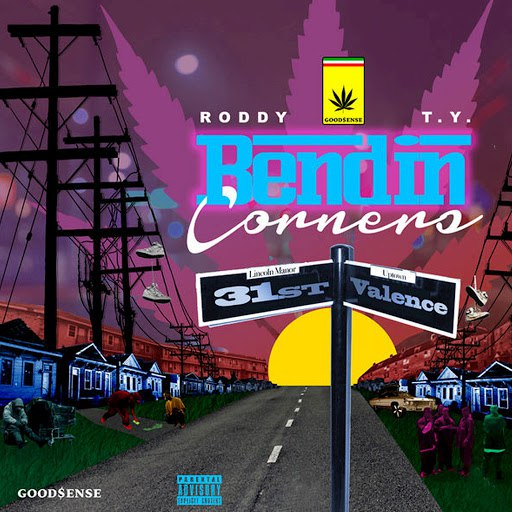 Young Roddy альбом Bendin Corners