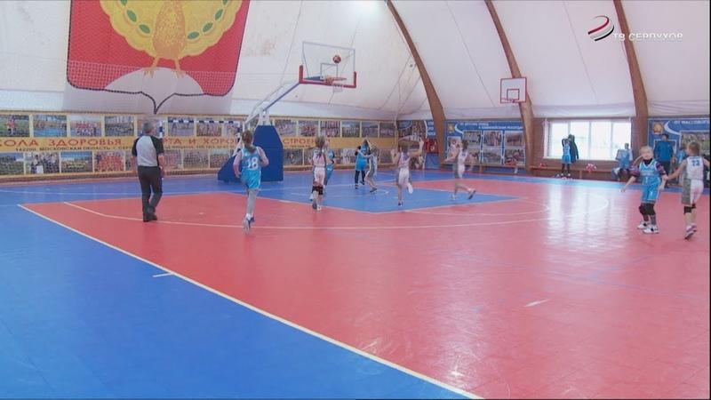 В ФОК «Звезда» состоялось открытие второго тура по минибаскетболу