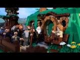 Все части Хоббита за 72 секунды в Лего_LEGO The Hobbit in 72 Seconds