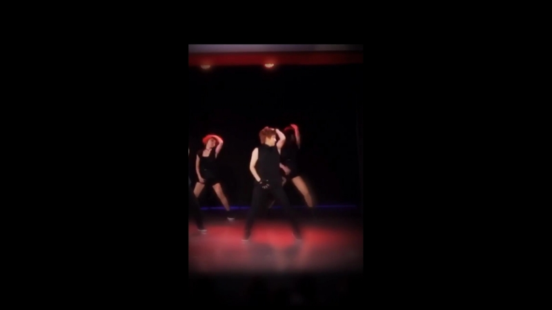 VIDEO Miya Predebut Dancing in the cover group 'BAXX'