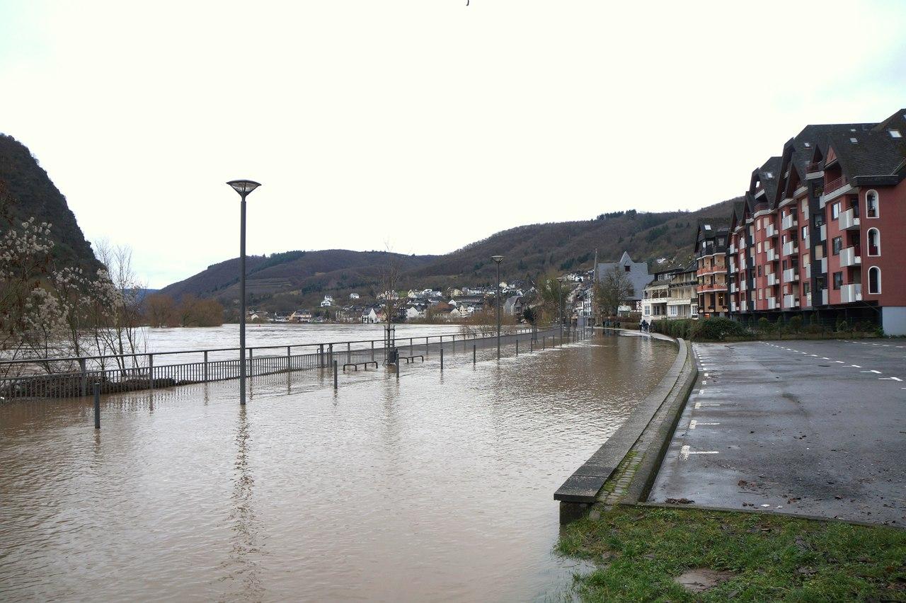 Германия ушла под воду