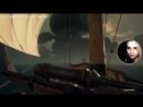 Алина слушает песенку из мультика Остров Сокровищ-Минздрав Предупреждает и играет в игру. 30.03.2018.