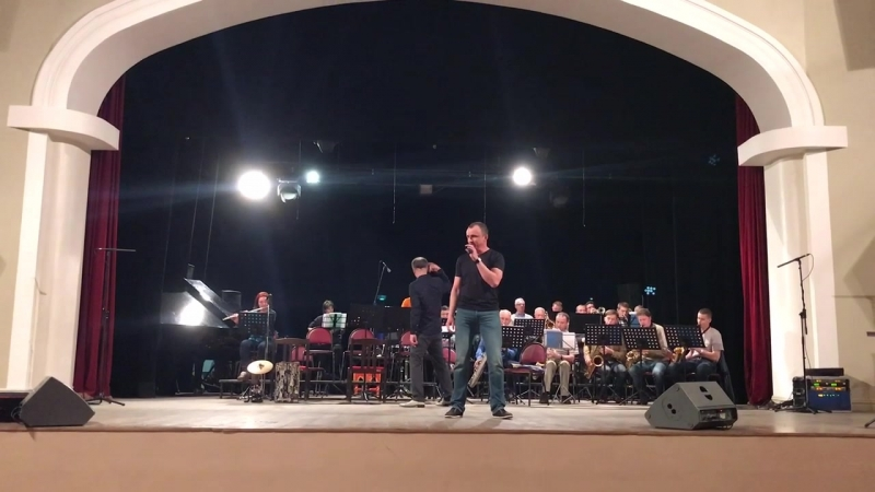 Видео с репетиции перед концертом «Ритмы волшебного джаза»