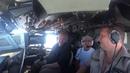 Наши летчики в Африканском небе Снижение заход и проход над полосой на высоте 150 м