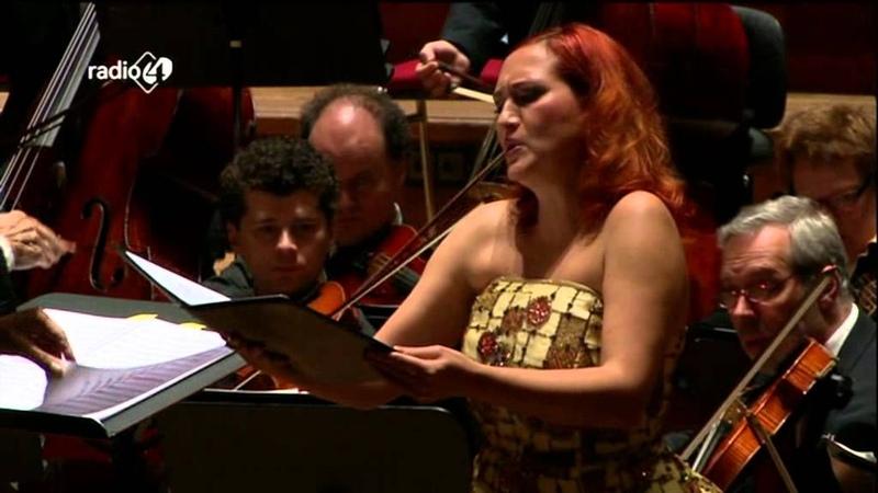 Mendelssohn Concertaria Infelice, op. 94 - Frans Brüggen - Simone Kermes - Live concert