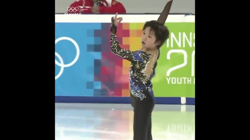 ThrowbackThursday to when a young Shoma Uno competed at the Innsbruck 2012 @youtholympics s