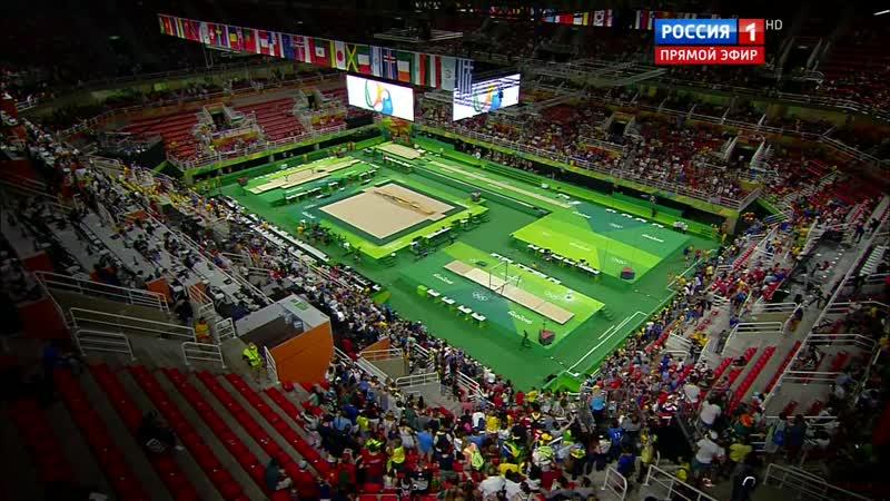 10.08.2016. 0045 - Спортивная гимнастика. Женщины. Командное первенство. Финал