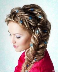 Красивые длинные волосы - b