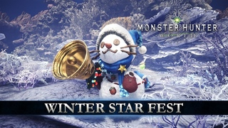 Monster Hunter: World - Winter Star Fest