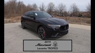 2019 Maserati Levante Trofeo Launch Edition Walk Around Video In Depth Review