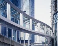 Современные здания обои, фото Переходы между здани - Город - каталог обоев на...