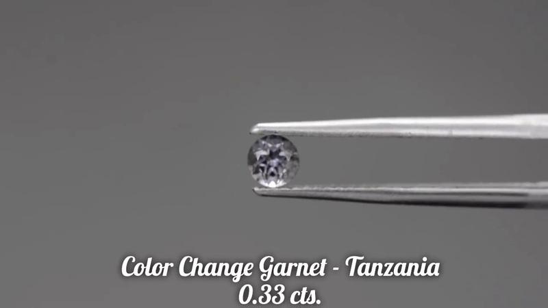 Fun Color Change Garnet Gemstone from KGC