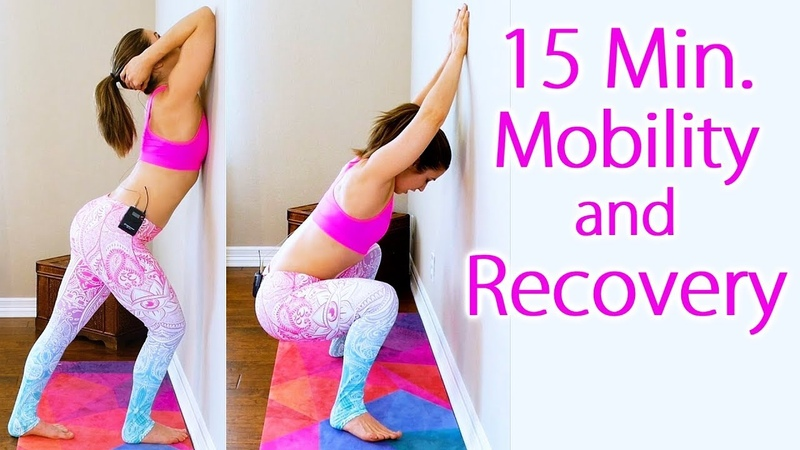 Improve Your Flexibility Mobility in 15 Minutes | Stretches Exercises for Recovery with Hannah