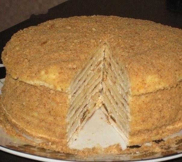 Торт «Hа скорую руку».