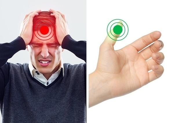 9 точек на теле, массаж которых избавит от неприятных ощущений.