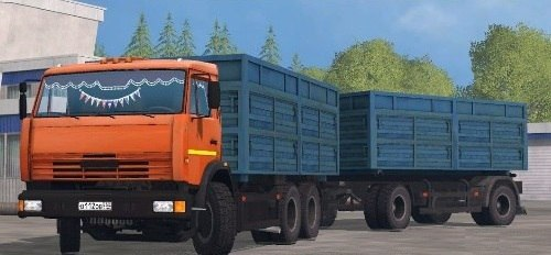 КамАЗ 53212 и НЕФАЗ 8560