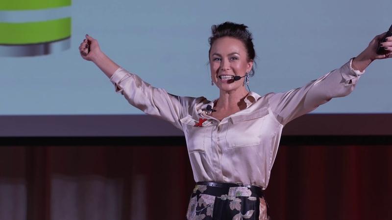 Как экологично увеличить свои физические способности   Гузель Закирова   TEDxBaumanSt