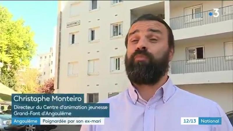 Fayçal B, algérien en situation irrégulière, a poignardé 3 fois son ex femme Houria à Angoulême