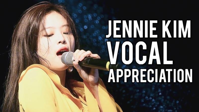 BLACKPINK JENNIE VOCAL APPRECIATION (Singing Live Compilation)