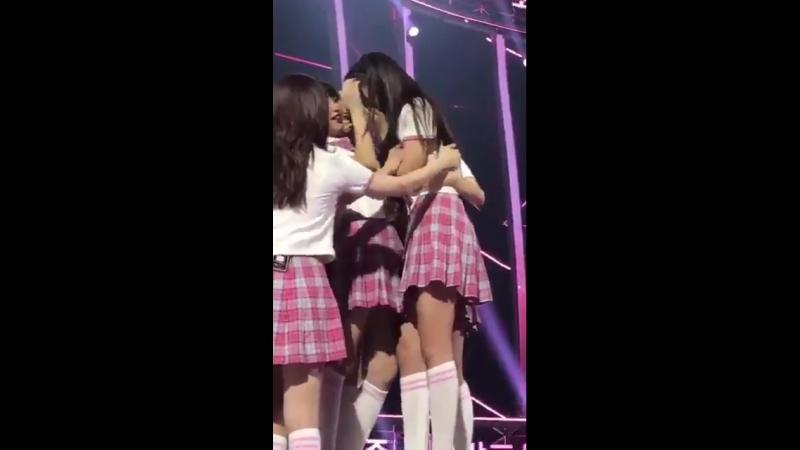 You did it, ahn yujin