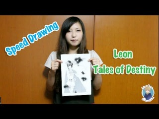 Speed Drawing: Leon from Tales of Destiny by Shamova Miki