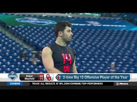 Best quarterback deep throws | 2018 NFL Scouting Combine | Mar 4, 2018