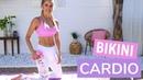 Bikini Cardio Workout - FULL BODY CALORIE BURN | Rebecca Louise
