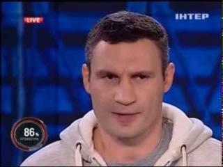 Очень глубокая мудрая мысль от чемпиона Кличко