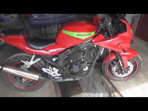 Очень дешевый ремонт обгонной муфты. Мотоцикл HYOSUNG.
