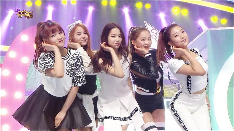 【TVPP】CLC - PEPE, 씨엘씨 - 페페 @ Hot Debut, Show Music Core Live