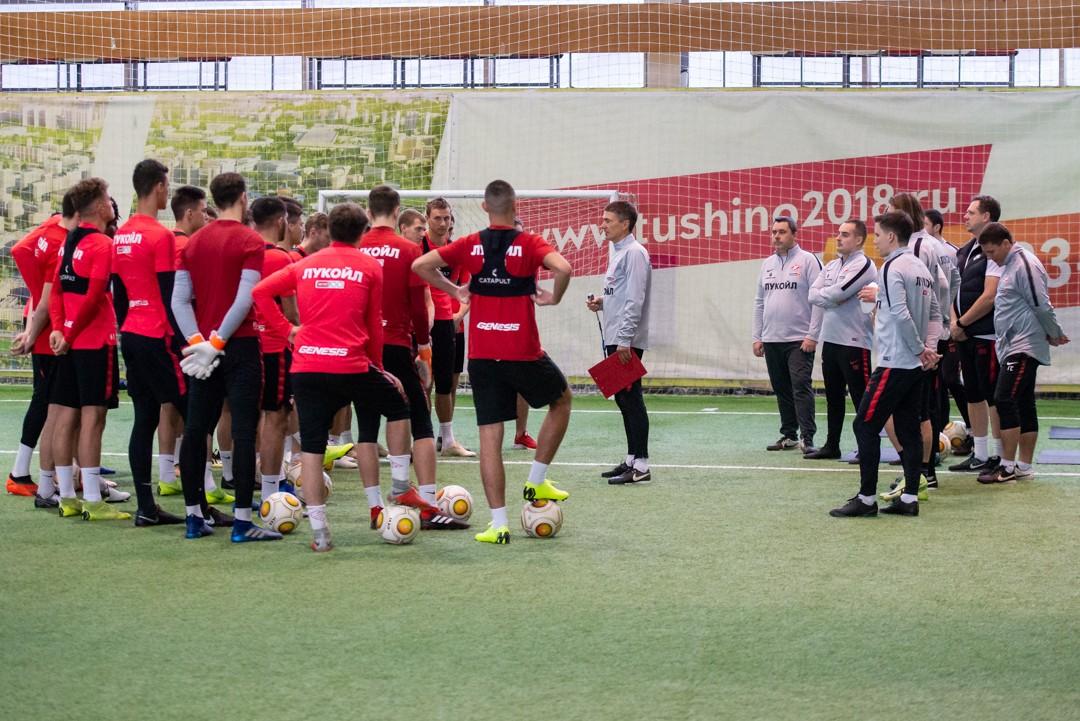 «Спартак-2» тренируется в Сокольниках